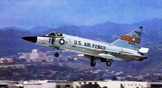 An F-102A Delta Dagger from the 199th FIS, 154th FIG, Hickham AFB, Hawaii.