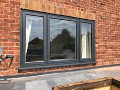 Grey Windows, Casement Windows, Windows And Doors, Different House Styles, Bullfinch, Window Replacement, Window Ideas, Window Design, Nottingham