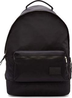 Krisvanassche Black Nylon Backpack