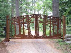 Cramblit's Welding, LLC - Fine Metal Works of Gates, Railings . Tor Design, Gate Design, Front Gates, Entrance Gates, Driveway Gate, Fence Gate, Gate Post, Security Gates, Farm Gate