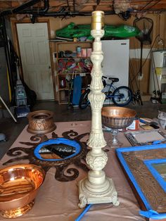 How To Get A Patina On Metal Finish Using Dixie Belle Patina Paint. Patina Paint, Patina Metal, Patina Finish, Paint Companies, Dixie Belle Paint, Metal Candle Holders, Metal Finishes, Metallic Paint, Wrought Iron