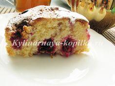 Пирог с вишней: рецепт с фото пошагово, в духовке