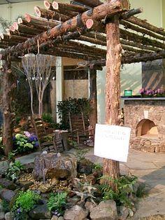 How Does Pergola Provide Shade Info: 5161502279 Rustic Pergola, Pergola Patio, Pergola Plans, Pergola Kits, Backyard Landscaping, Pergola Ideas, Cedar Pergola, Greenhouse Ideas, Gazebos