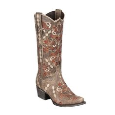 Lane Women's Kayla Cowgirl Boot Snip Toe - Lb0198c -- Special boots just for you. See it now! : Cowgirl boots