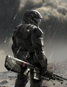 ODSTs are easily the coolest guys in the Halo Universe. I'd honestly REALLY love to see a second installment in the franchise featuring them as the main characters.