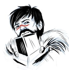 Hawke_Sketch by ChikKV.deviantart.com on @DeviantArt