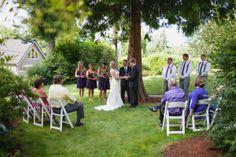 small wedding.