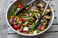balsalmic grilled vegetables. sadie + stella: How about another grilled veggie on the barbie??