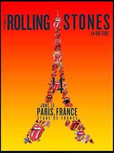 The Rolling Stones, Paris, Stade de France, 13/06/2014
