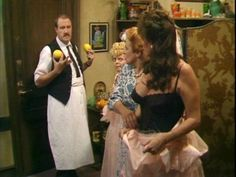 Just a simple day at Cafe Rene XD Vicki Michelle, Are You Being Served, Dad's Army, Great Comedies, British Comedy, True Identity, Comedy Series, Great British, Classic Tv