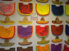 Ponchos and sombreros.
