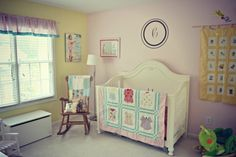 I love the girly-ness of this room. Adorable! @babycenter