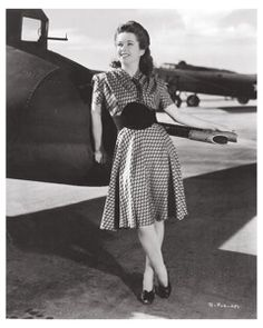 Margie Stewart, the official pin-up girl of the U.S. Army during WWII