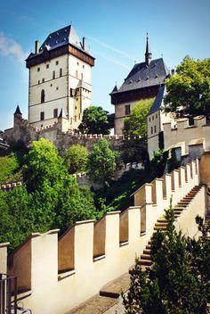 Karlstein castle #czech republic