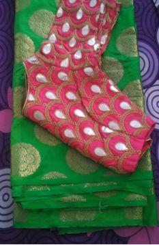 Latest Silk Saree Blouse Designs for Wedding - ArtsyCraftsyDad