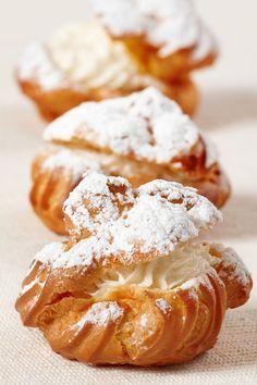 Cream Puffs & Profiterole's & Choux Cream Puffs