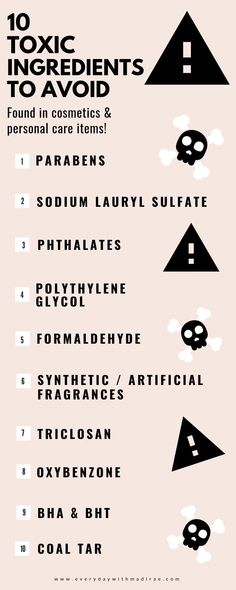 Sharing my unfiltered thoughts on the clean beauty epidemic, as well as, 10 toxic ingredients found in skincare & cosmetics that you should try to avoid! Source by everydaywithmadirae beauty hacks skincare Beauty Care, Beauty Skin, Beauty Tips, Diy Beauty, Natural Beauty Hacks, Beauty Ideas, Beauty Secrets, Beauty Habits, Face Beauty