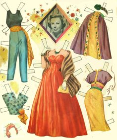 June Allyson paper dolls, 1957 Whitman of Paper Dolls Clothing, Paper Dolls Book, Vintage Paper Dolls, Paper Toys, Doll Clothes, Beautiful Costumes, Beautiful Dolls, Best Shoe Rack, Paper Doll Costume