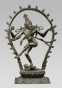 The sculpture depicts the Hindu deity Shiva as Nataraja, the lord of dance, dancing in a ring of fire as he tramples Apasmara, the demon of human ignorance, underfoot. National Museum of Denmark (Inv. Indian Gods, Indian Art, Chola Dynasty, Baby Ganesha, Asian Sculptures, Hindu Statues, Nataraja, India Culture, Shiva Shakti