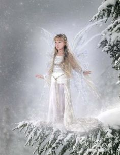 Fairy and fantasy art images, fairy pictures & drawings, flower and butterfly illustrations from Fairies World. Fairies World, Fairy & Fantasy Art Gallery - Susan Schroder/Snow Fairy© Fairy Dust, Fairy Land, Fairy Tales, Snow Fairy, Winter Fairy, Fairies Photos, Kobold, I Believe In Angels, Fairy Pictures