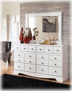 Weeki White Dresser