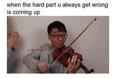 and u will become ling ling HAHA not. See more ideas about Music memes, Haha and Violin. Funny Band Memes, Band Jokes, Stupid Funny Memes, Funny Relatable Memes, Music Jokes, Music Humor, Band Problems, Flute Problems, Musician Memes