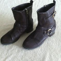 Marco Santi - Dark Brown Boots Fair condition, some scratches. No trades. Marco Santi Shoes Combat & Moto Boots
