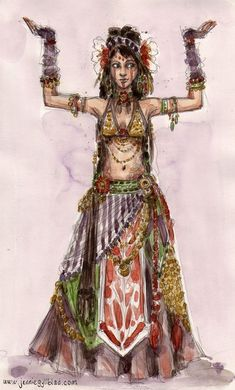 Hello from a painter wanting to learn belly dance! #BellyDancingMusic