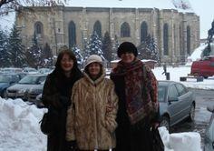 Cluj, Piata Unirii, cu fetele -1 Decembrie 2008