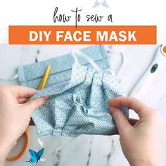 Free Fabric Face Mask Pattern Free Face Mask Pattern to sew for yourself or to donate to hospitals. Make a pleated surgical mask with elastic ear loops or fabric ties, plus optional filter pocket.<br> Easy Face Masks, Homemade Face Masks, Diy Face Mask, Full Face Mask, Sewing Patterns Free, Free Sewing, Free Pattern, Pattern Sewing, Diy Clothes Patterns
