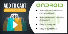 Android Add To Cart Animations - Price $15