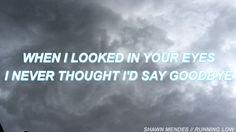 Shawn Mendes // Running low dsj