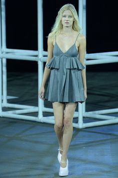 Alexander Wang Spring 2014 Ready-to-Wear Collection I love this dress!  I am also digging the shoes.