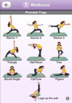 pregnant yoga poses - Google Search