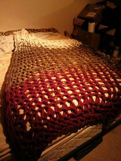 Arm knitted blanket #2