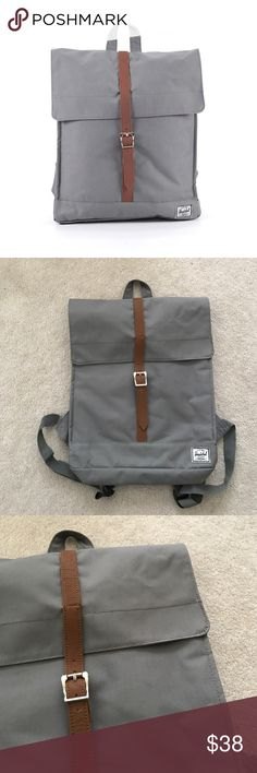 Herschel Supply Co. City Mid-Volume Backpack. Gray Very good condition, light wear. Price is firm.  🚫 no trades ✖️ no holds ♻️ if it's listed, it's available Herschel Supply Company Bags Backpacks