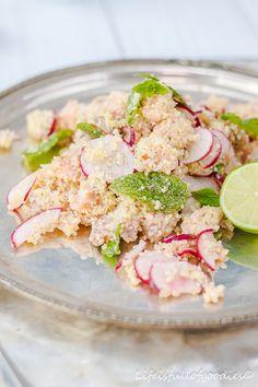 Salmon Taboulé / Lachstaboulé aus dem einfachsten Kochbuch der Welt