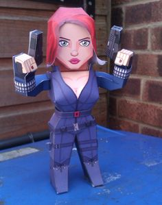 Black Widow – Bonecos 3D para Recortar e Montar!