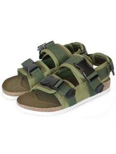 TOMO&CO Military Strap Sandal (olive)