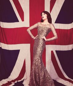 Florence Welch, the face of London.