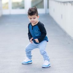 Light Blue City Comfort Toddler Joggers - Only Toddler Jeans, Toddler Outfits, Baby Boy Outfits, Kids Outfits, Kids Wear Boys, Baby Boy Hairstyles, Blue City, Pink Prom Dresses, Baby Leggings