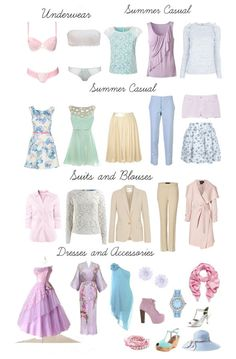 Как подобрать гардероб по цветотипу Лето