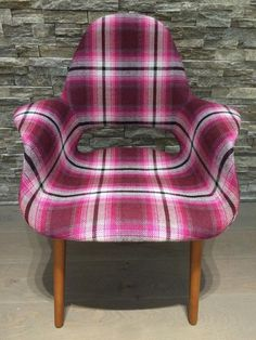 New romo chair with Dalton fabric!