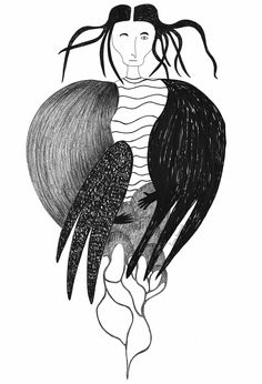 Witch. Iwona Szczepanik. Illustration.