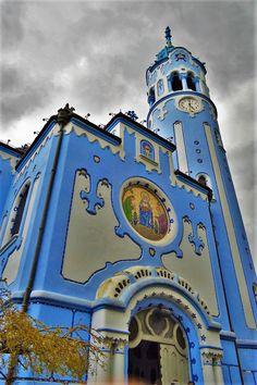 The Blue Church, the Church of St. Elisabeth, Bratislava, Slovakia