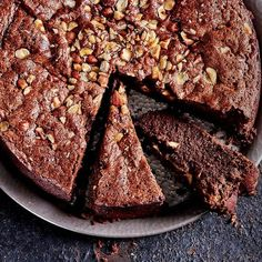 Sunken Nutella cake with Baileys cream: This indulgent sunken Nutella cake with Baileys cream is sure to be a crowd-pleaser, plus, it's easy to make