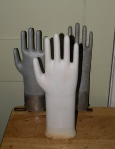 #Vintage #Porcelain Glove Mold GERMANY