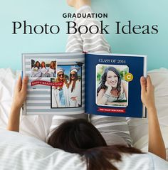 Give the Class of 2016 a graduation gift to treasure and remember forever. Create a personalized photo book capturing all of their school year accomplishments.