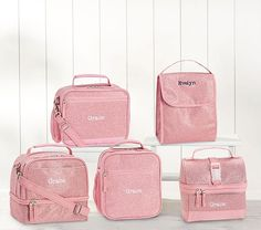 Pottery Barn SET Koala Bear Lunch box Butterfly Ice pack bag school girl gear