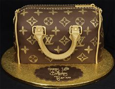 Louis Vuitton B Day Cake It Looks Like A Real Purse